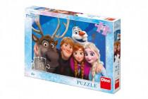 Puzzle Ľadové kráľovstvo / Frozen Selfie 24 dielikov 26x18cm