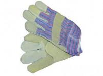 rukavice TERNO tkanina / žltá štiepenka