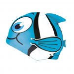 Spokey RYBKA MARLIN Dětská plavecká čepice sv. modrá