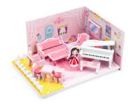 Drevená hračka izbičku pre bábiky