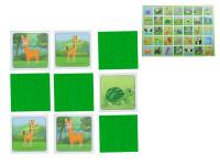 Pexeso Mláďatá 64 kariet ilustrovaná zvieratka