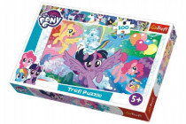 Puzzle My Little Pony 100 dielikov 41x27,5cm