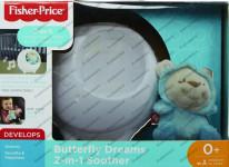 Fisher Price projektor s motýľom kamarátom pre pokojné sny