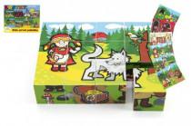 Kostky kubus dřevěné Moje první pohádky