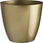 Obal Ella - lesklá zlatá (vánoční řada) 15 cm