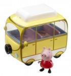 Prasiatko Pepa - kempingový automobil Peppy + figúrka