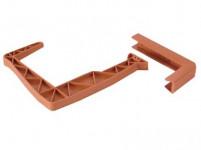 držiak truhlíkov balkon.15x13cm TE (R624) nastaviteľný