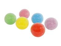 Loptička strečový 7 cm s vodnými guličkami - mix farieb