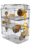 Klietka škrečok Rody 3 TRIO žltá 41x27x53cm Zolux