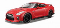2017 NISSAN GT-R 1:24 červený