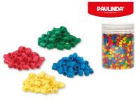 Paulinda Super Beads 5x6 mm 1600 ks s doplnkami v dóze - mix farieb