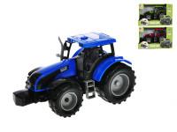 Traktor 1:32 20 cm na zotrvačník - mix farieb