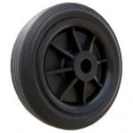 kolečko obruč ČER 125/12mm KL plastové, disk