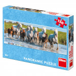 Camargští koně 150D panoramicuzzle