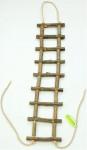 Rebrík drevený prírodný slabší 60 cm