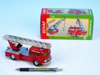 Auto Mercedes 335 hasiči kov 17cm 1:43 v krabičke Kovap