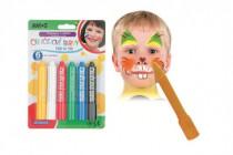 Farby tvárovej v ceruzke 14x20cm karneval