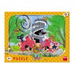 Dino puzzle Krtko opravár 12D doskové