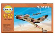 Model MiG-17PF 1:72 13,3x16,2cm