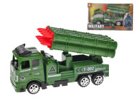 Vojenské vozidlo raketomet 18 cm na zotrvačník