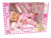 Bambolina Mia Bambina 36 cm s doplnkami