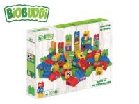 BiOBUDDi stavebnice Learning To Create Young Ones 58 ks + 2 ks základná doska