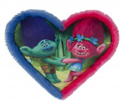 Polštářek Troll ve tvaru srdce
