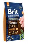 Brit Premium Dog by Nature Senior S + M 8kg