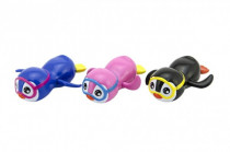 Tučniak do vane plávajúce plast 12cm na natiahnutie - mix farieb