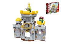 EDUKIE stavebnice Angry Birds hrad 239 ks + 2 figurky