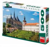 Puzzle Chrám sv. Barbory 47x33cm 500 dílků