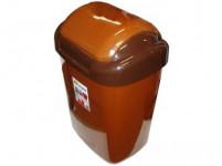 kôš odpadkový výklopný STANDARD 27l obdĺžnikový, hladké veko plastový, HN