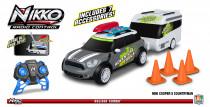 Nikko RC Mini Countryman s karavanom šedý