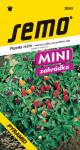 Semo Paprika zeleninová pálivá - Pyramid, okrasná 20s - séria Mini / SHU 40 000 /