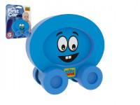 Moje první autíčko pěna Smajlík modrý 8x8cm