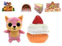Wild Cakes zvieratko plyšové 13 cm voňajúce - mix variantov či farieb