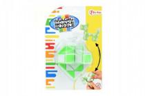 Magický had hlavolam plast na kartě - mix barev
