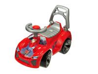 Auto odrážadlo červené 70x45x29 cm s klaksónom max. 30 kg