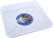 Elho miska Total4 Square - transparent 20 x 20 cm