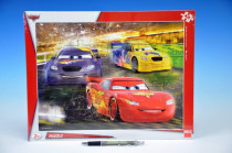 Puzzle deskové Cars Velké vítězství 40 dílků 37x29cm
