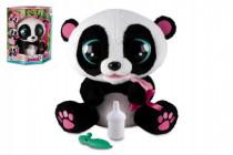 YOYO Panda interaktívne hýbajúce sa 28cm plyš na batérie so zvukom v krabici 40x43cm 18m +