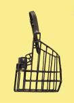 Náhubek kovový Doga, Vlkodav - pes, gumoplast 130 x 185 x 140 mm