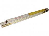 meter skladacie driev. 1m / 5 PERFEKT buk BI / ŽL
