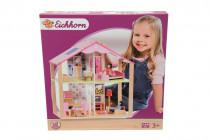 Drevený domček pre bábiky s prísl.