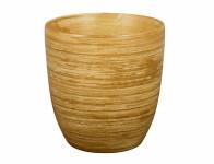 Obal na kvetináč KODET TEAK keramický matný d16x16cm