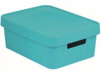 box úložný INFINITY 36,3x27x13,8cm s vekom, plastový, MO