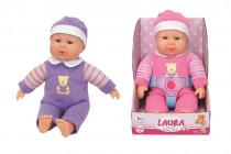 Panenka Laura First Baby Doll 30 cm - mix variant či barev
