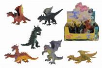 Figúrky drakov, 12 DP, 17-25 cm - mix variantov či farieb