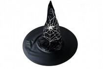 Klobúk čarodejnícky dospelý priemer 45cm karneval