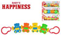 Řetěz na kočárek 44 cm Baby´s Happiness - mix variant či barev